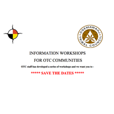 Save the Date! – Information Workshops for OTC Communities